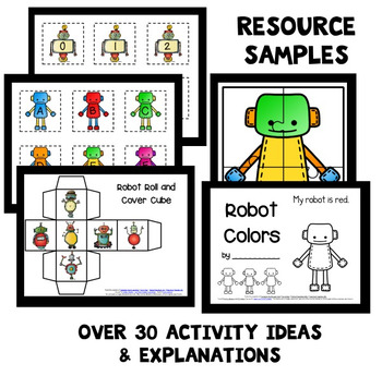 Robot Theme Home Preschool Lesson Plans