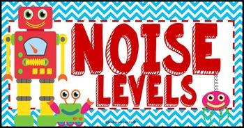 Robot Theme Noise Level Chart