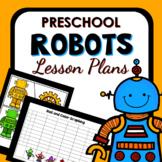 Robot Theme Preschool Lesson Plans