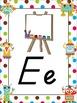 Robot Themed Alphabet Posters DNealian Font
