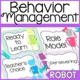 Behavior Chart-Robot Theme