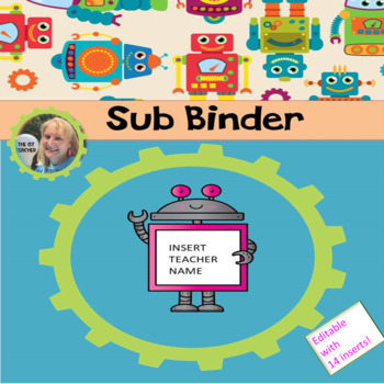 Robot Themed Sub Binder