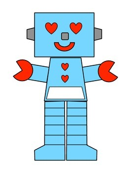 Robot Valentine's Day Bag Pattern