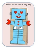 Robot Valentine's Day Bag Pattern