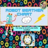 Robot Weather Chart