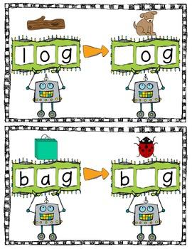 robot words cvc phoneme substitution practice by kroger 39 s kindergarten. Black Bedroom Furniture Sets. Home Design Ideas