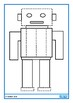 Autism, Robot Fine Motor Tracing, Pre-Writing, Special Education, OT