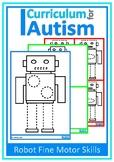 Fine Motor Tracing Pre-Writing Skills Robots  Autism Speci