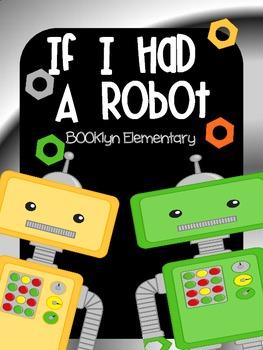 Robot Writing Freebie