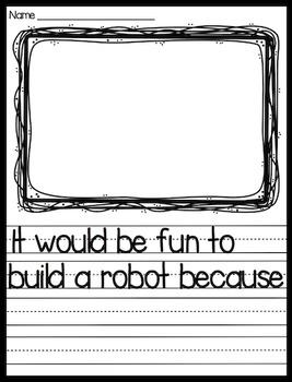 Robot Writing Packet