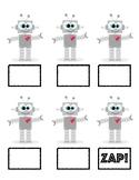 Robot ZAP! Card Game