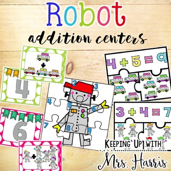 Addition - Robot Addition Centers
