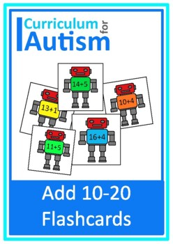 Addition 10-20 Robots Autism Special Education