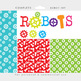 Robot clipart - robots clip art, gears nuts bolts robot di