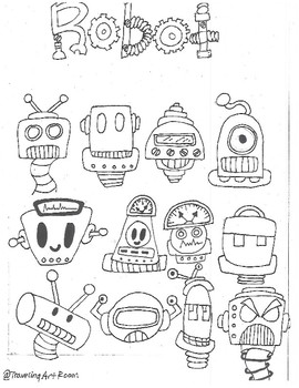 Robot drawing resource