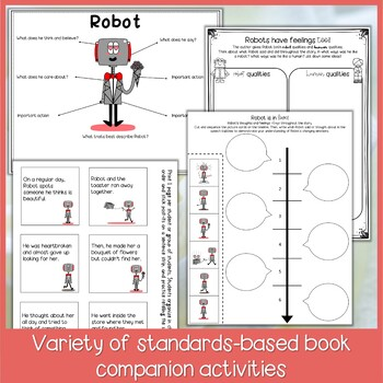 Robot in Love Lesson Plan and Book Companion