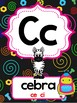 Robot theme Spanish Alphabet Posters