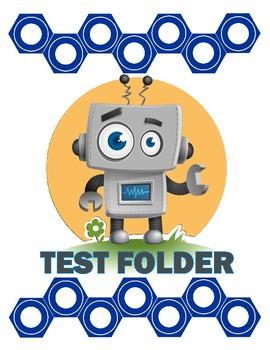 Robot themed test folder