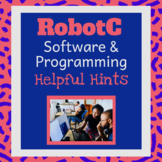 RobotC User Guide for Students