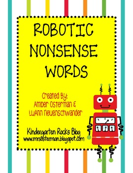 Robotic Nonsense Word Unit