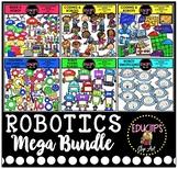 Robotics Clip Art Mega Bundle {Educlips Clipart}