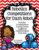 Robotics Competitions for Dash Robot