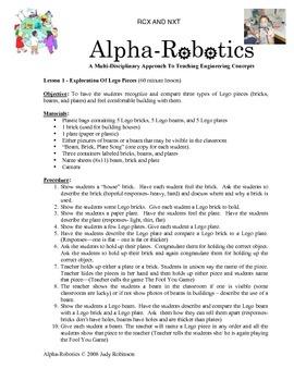 Lego & Robotics For Kgn and 1st grades/ NXT & RCX