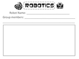 Robotics Forms