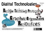 Digital Technologies Design Thinking Process Graphic Organ