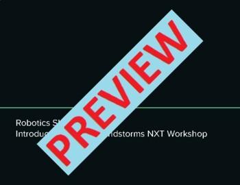 Robotics Introduction to Lego Mindstorms NXT