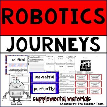 Robotics Journeys 6th Grade Unit 5 Lesson 25 Activities and Printables