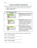 Robotics - Lego Mindstorm EV3 - Simple Movement Task