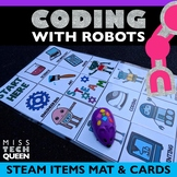 Coding and Robotics | Bee Bot Dash Mouse Sphero STEAM Activity Mat