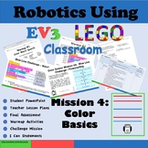 LEGO MindStorms  EV3:  The Color Sensor