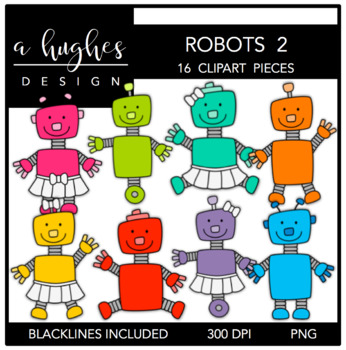 Robots 2 {Graphics for Commercial Use}