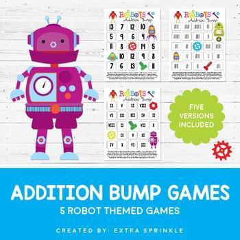 Robots Addition Bump Games