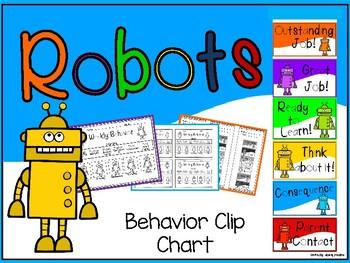 Robots Behavior Clip Chart