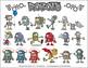 Robots Cartoon Clipart