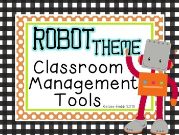 Robots Classroom Management Set