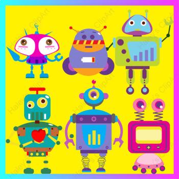 Robots(Clip Art)