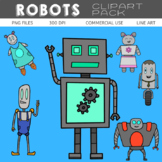Robots Clipart Pack