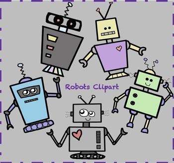 Robots Clipart / Robot Clipart