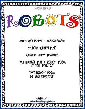 Robots ~ FREEBIE!