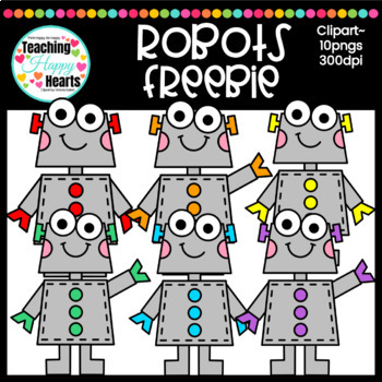 Robots Free Clipart