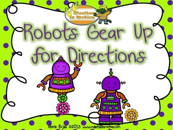 Robots Gear Up For Directions