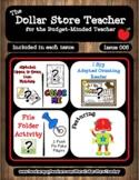 Robots - Issue 006 - The Dollar Store Teacher Newsletter {