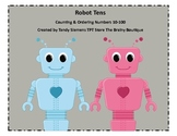 Robots Love Tens Skip Counting and Ordering 10-100 by 10's