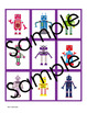 Robots Memory Game - Robots Theme Activity