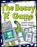 R Controlled Vowels Game (The Bossy R) - 32 Task Cards