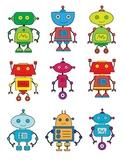 Robots (Robotics) - STEM - Clip Art